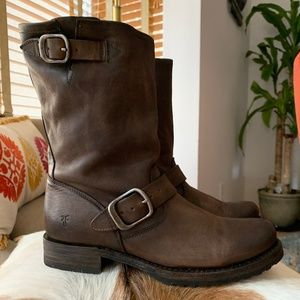 Women's Veronica Frye Boots Brown Size 7